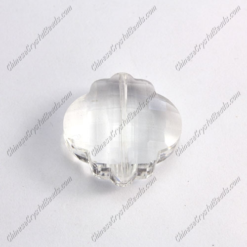 crystal lantern pendant, 25mm, clear, sold 1 pcs