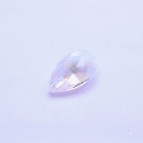 22x13mm Crystal beads Faceted Teardrop Pendant, clear AB