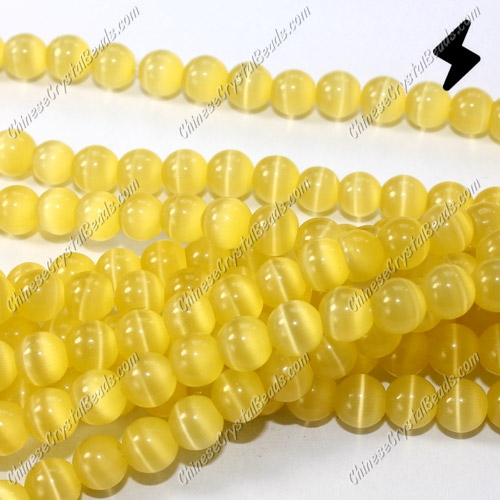 "glass cat eyes beads strand, sun, about 15"" longer"