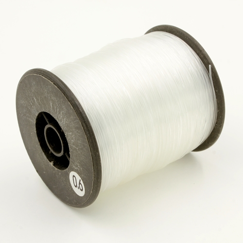 braided beading thread, 3D Beading wire, 0.6mm Diameter, about 250 meters per spool