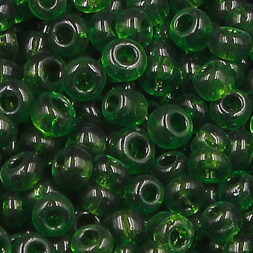Glass Seed Beads, Round, about 2mm, #27, emerald, Sold By 30 gram per bag